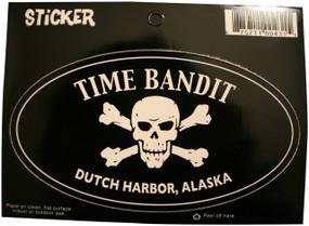 Time Bandit Dutch Harbor Oval Sticker