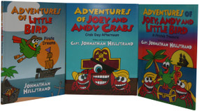 **AUTOGRAPHED** TRILOGY Adventures of Little Bird, Adventures of Joey and Andy Crab and The Adventures of Joey, Andy and Little Bird 3-Pack