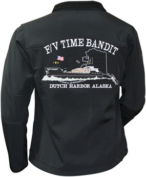 Ladies F/V Time Bandit CLASSIC FRONT Lightweight Granyte Jacket