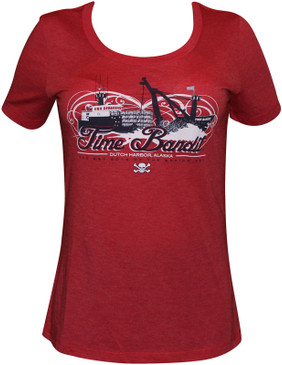Ladies 10th Anniversary Time Bandit T-shirt