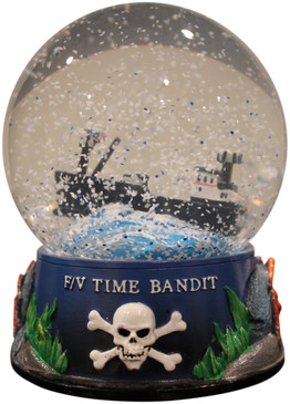 LIMITED EDITION F/V Time Bandit Snow Globe