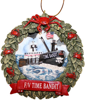 F/V Time Bandit Tree Ornament