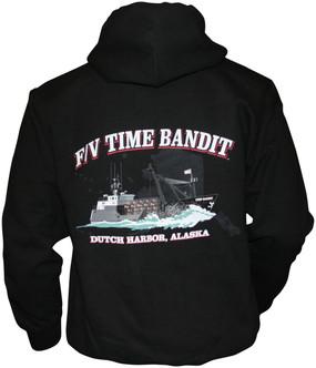 F/V Time Bandit  Full Zip Hoody