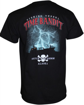 Time Bandit Lightning T-shirt