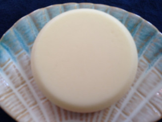 Triple Butter Lotion Bar Vanilla Made with Organic Shea, Cocoa, Mango Butter, White Beeswax, Sweet Almond Oil, Avocado Oil, Aloe Vera Butter, Vitamin E, Vanilla Fragrance Oil. My Lotion Bars are made for men and women. Lotion Bar is a liquid lotion made in shape of a Soap. Rub on your hands, knees,  feet or any place on your body that needs moisturizing. Guaranteed to make them softer. weight 3oz+ no preservatives Come in a white box you can take anywhere.