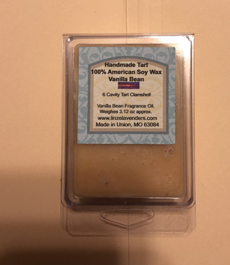 Handmade Melts Vanilla Bean100% American Soy Wax 6 Cavity Melt Clamshell. Made for Warmers Melts provide a quick and safe and clean alternative to enjoying scented candles in your home. Scent lasts and long time. 10 hr to 30 hr maybe longer. Weighes 3.12oz
