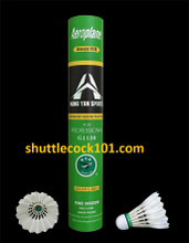 Shuttlecock101.com - best prices for Aeroplane shuttlecocke EG-1130, SG-1130 and G-1130. Best prices for the best badminton shuttlecocks. Aeroplane shuttlecock is the best value shuttlecock, which has the same, if not better, quality as Yonex, but it is much more affordable. The G1130 Aeroplane Shuttle uses some of the finest materials to produce a shuttle that is suitable for all levels of play. Made from premium goose feathers, this shuttle is perfect for tournament, club, or recreational play.