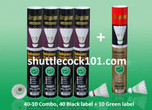 Shuttlecock101.com - best prices for Aeroplane shuttlecock EG-1130, the Black Label and G-1130, the Green Label. Best prices for the best badminton shuttlecocks. Buy more and save more. Best bulk discount for Aeroplane shuttlecock EG1130, G1130 and EG1130-LE.
