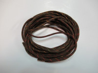 Cloth covered conductor tinsel wire per ft