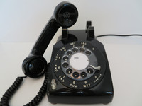 Western Electric 510 telephone 2 line 1960s