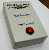 TELEPHONE RING GENERATOR for Testing, displays, props