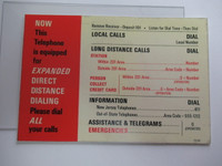 Top Flag card and Plastic for 3 slot payphones