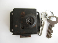Western Electric 12B lock Vault door 2 Keys