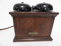 Western Electric Oak ringer 127F   w/ capacitor