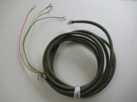 Moss Green cloth covered line cord Premium Green 302