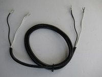Rubber receiver cord for 2 piece payphones and wall phones