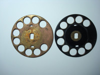 Solid Brass Fingerwheel Western Electric