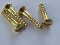 Kellogg Transmitter Arm Brass oval mounting screws