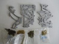 50G Western Electric / Gray  lead coin chute  kit