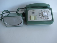 880 Speaker Phone Automatic Electric  Black 1950s