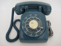 Mediterranean Blue 500  Western Electric / AT&T Rotary