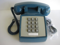 Mediterranean Blue 554 Western Electric / AT&T Touch tone