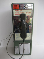 Western Electric 1C Rotary Single Slot payphone working
