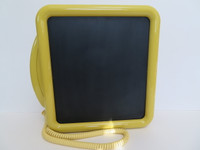 Noteworthy Telephone Western Electric Touch-tone Yellow