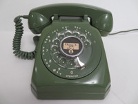 Green  Stromberg Carlson 1543 cut corners telephone