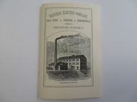 1882 Western Electric Catalogue