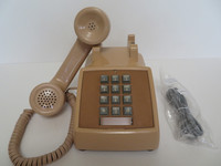 2500  Touch Tone Tan phone