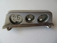 Cast Bronze Coin Gauge 3 slot payphone Nickle