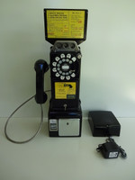 Western Electric 233G Payphone  Coin Controller Works off of Coins