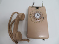 Rose Beige 544 Western Electric wall phone