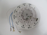 White 9C  Rotary dial Western Electric