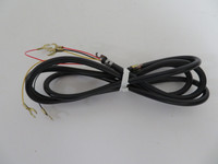 Black rubber handset cord