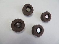 500 telephone rubber feet and rivets NOS