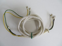 Ericsson  White Cloth covered handset cord NOS