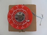 Western Electric  Orange  9C 500 set dial NOS Stromberg Carlson ITT