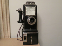 Gray 50A  Pay phone
