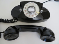 Princess rotary dial phone   Black