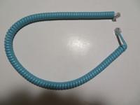 Aqua modular handset cord