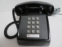 Black 2500 Touchtone phone