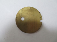 Dial center/ Card holder Brass disc