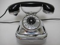 W 28 Siemens phone Chrome 1930s