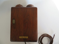 Western Electric 295 Walnut Subset with Walnut bells