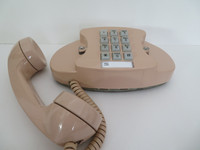 Rose Beige Princess touch tone telephone