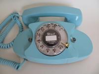 Light Blue Princess phone Western Electric