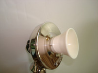 Ivory Mouthpiece for candlestick and wood wall telephones