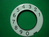 Porcelain dial plate  Numeric